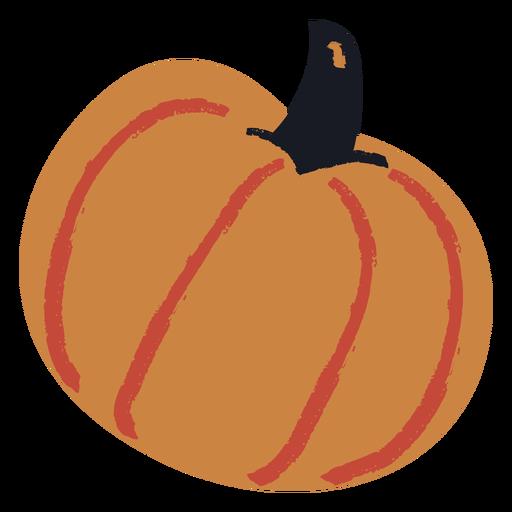 Cute pumpkin flat