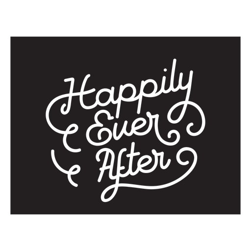 Happily ever after badge