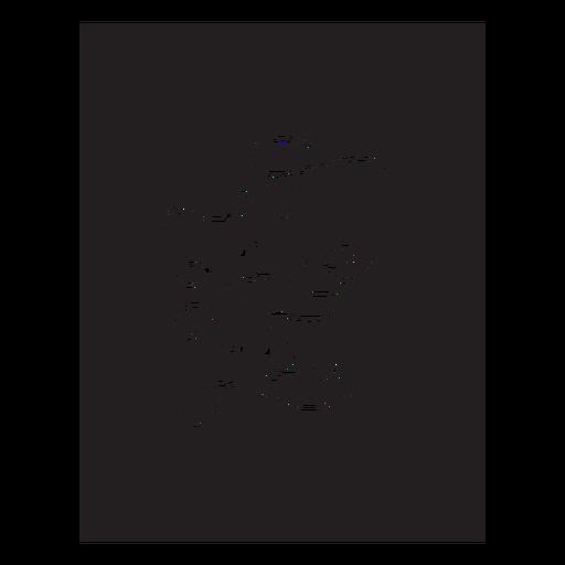 I love you lettering badge