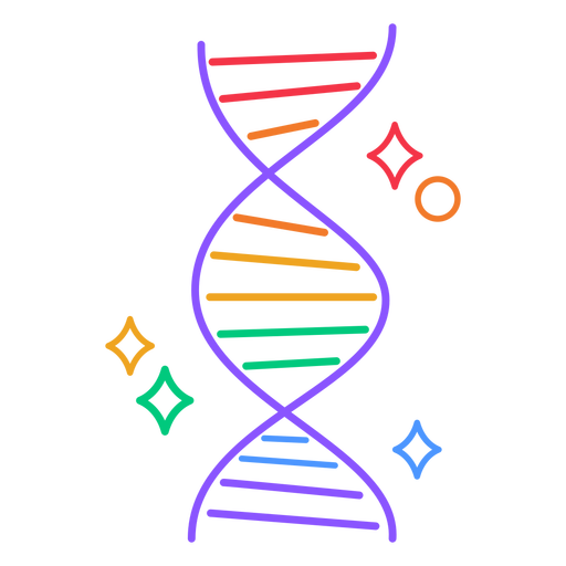 Rainbow DNA  stroke