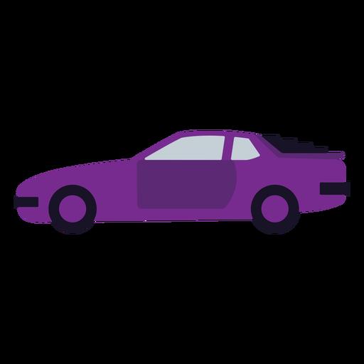 Violet car flat