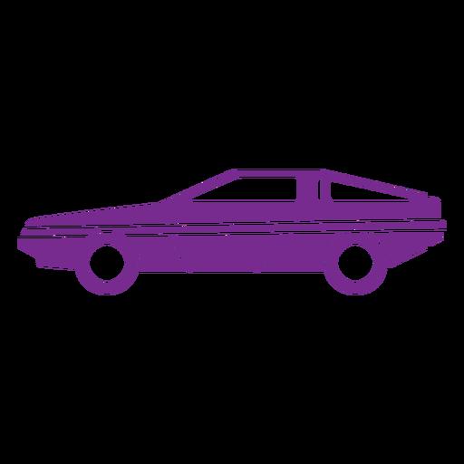 Old school car cut out