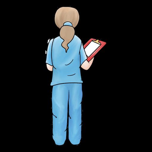 AcuarelaDoctoresEnfermeras - 0