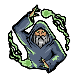 Gray wizard color stroke