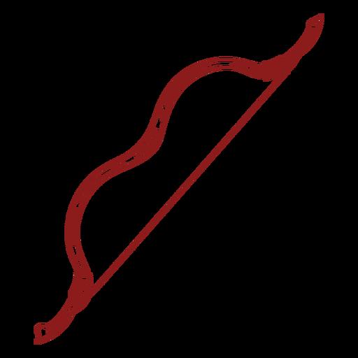 Bow archery equipment stroke