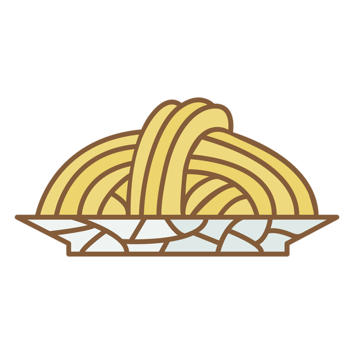 Pasta plate food polygonal