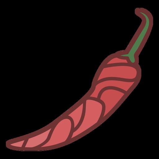 Chili pepper food polygonal