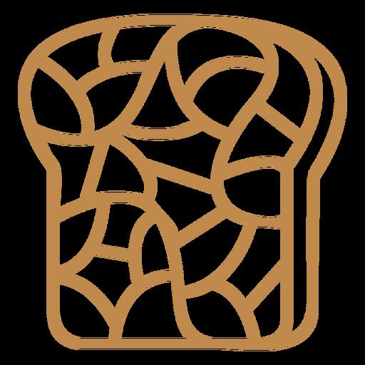 Bread toast breakfast food stroke