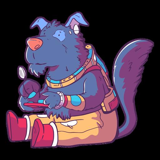 Wolf wild animal gamer character