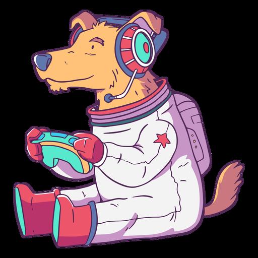 Dog pet animal gamer character