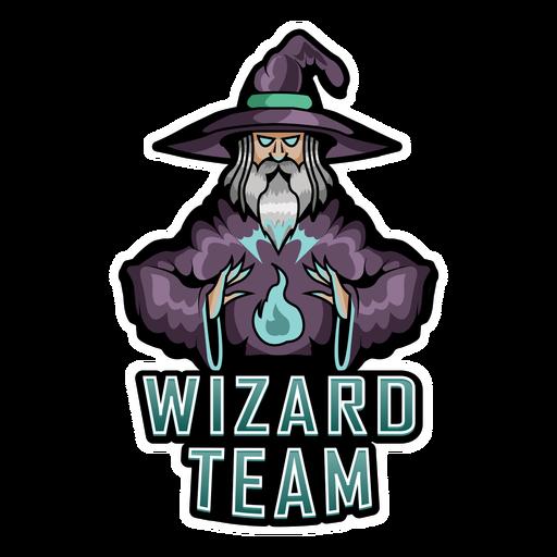Wizard team color stroke