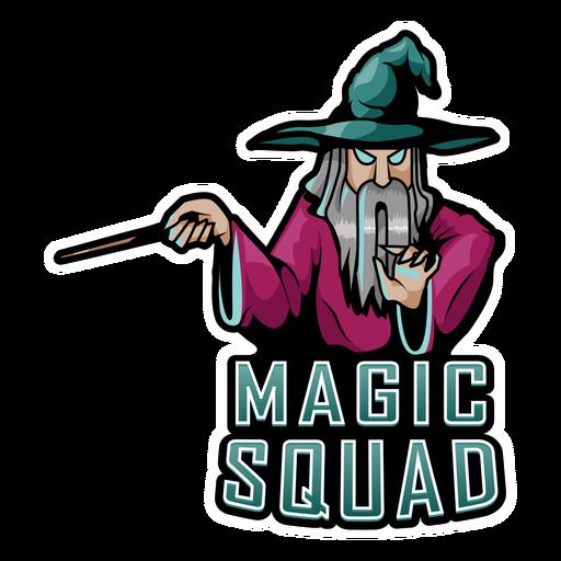 Magic squad wizard color stroke