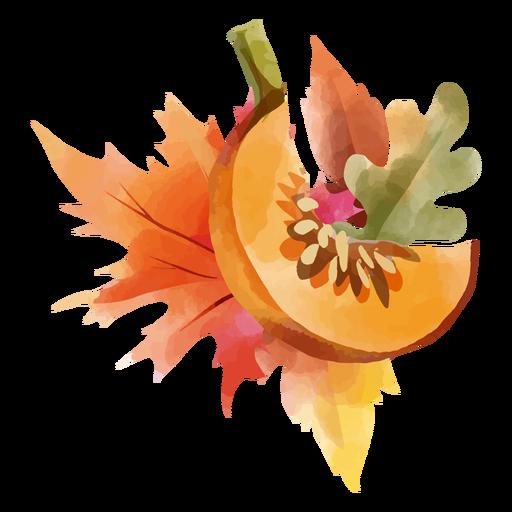 acuarela de otoño - 1