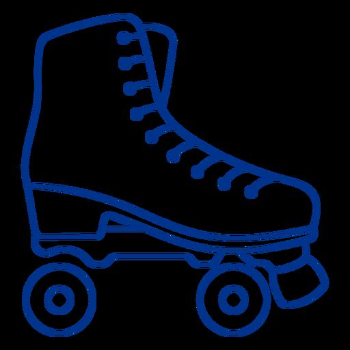 Roller skate stroke