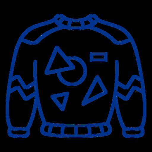 80s sweater stroke