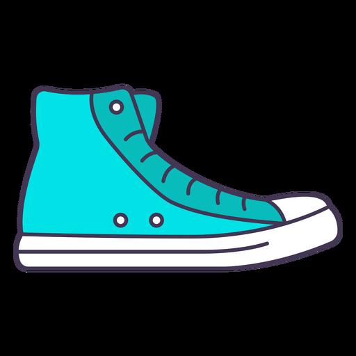 Sneaker color stroke
