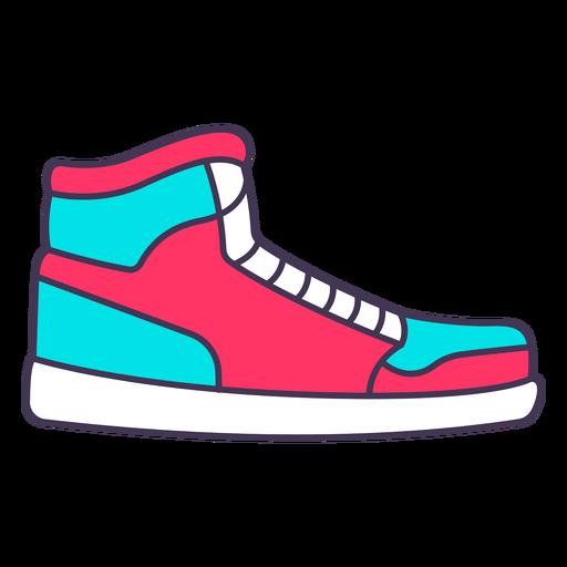 Sneakers color stroke