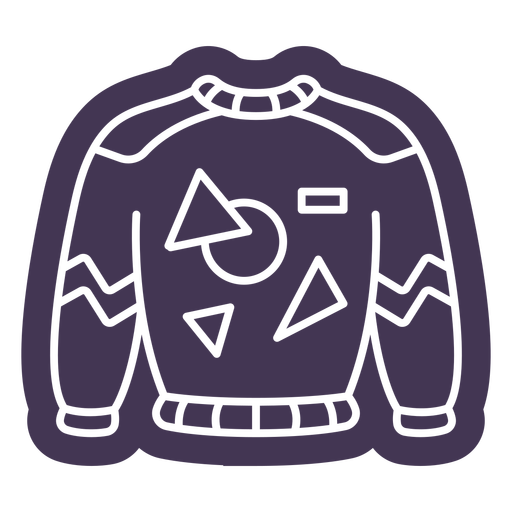 Vintage sweater cut out