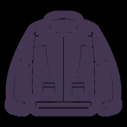 Vintage coat cut out