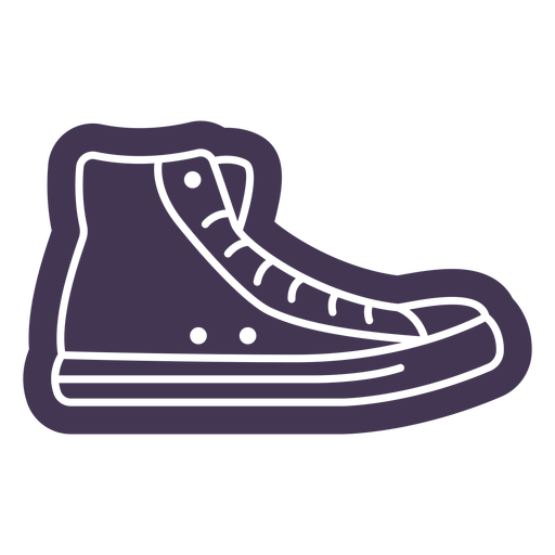 Sneaker cut out