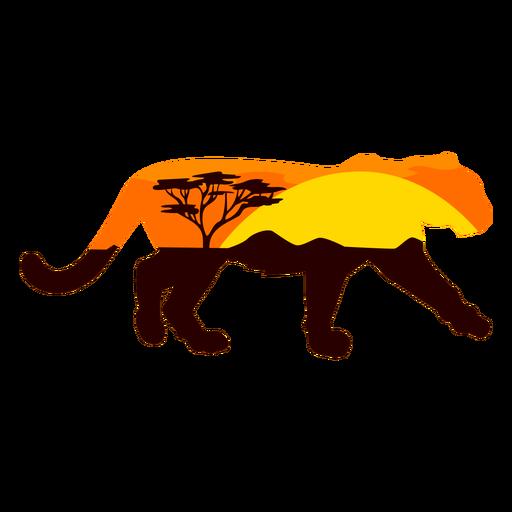 Savana lioness semi flat