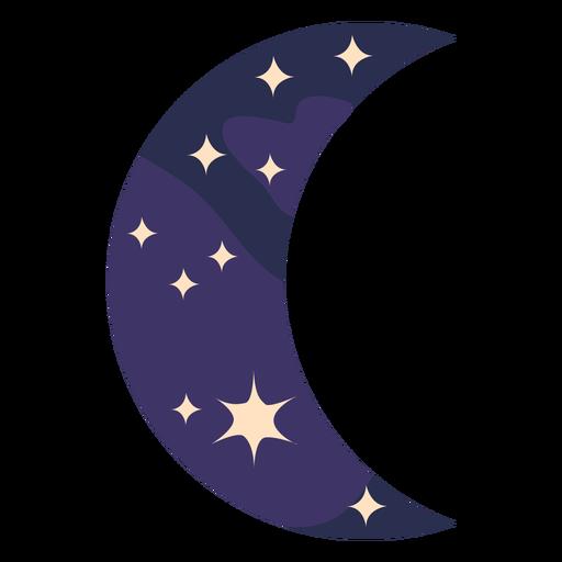 Night moon semi flat