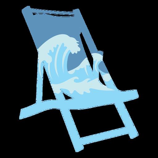 Ocean lounge chair semi flat