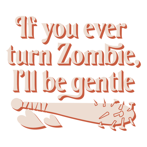 If you ever turn a zombie badge