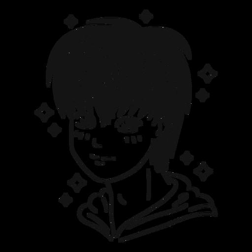 Anatomie-Gesicht-Anime-Vinyl - 2