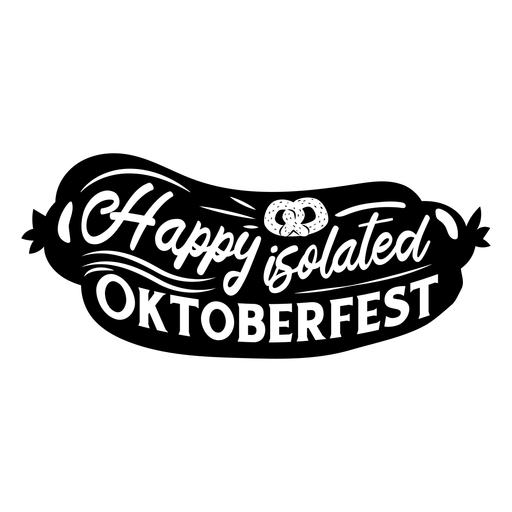 Happy Oktoberfest cut out