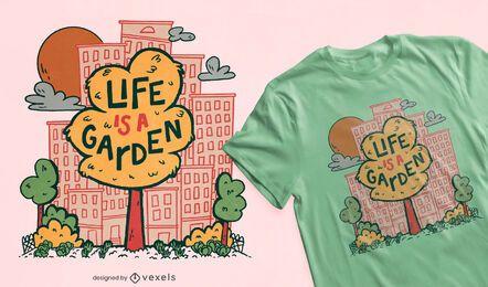 Stadtbaumgarten T-Shirt Design-