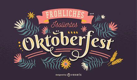Classic oktoberfest lettering