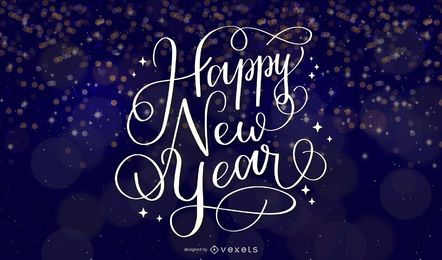 NEW YEAR THEMES WALLPAPER VECTOR BACKGROUND DESIGN ILLUSTRATOR CS4 EPS