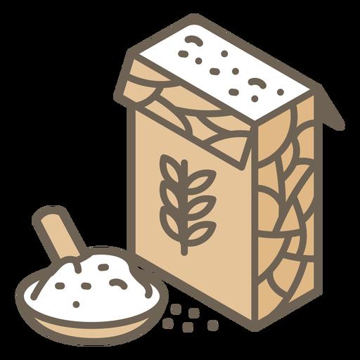 Fractal flour box colors troke
