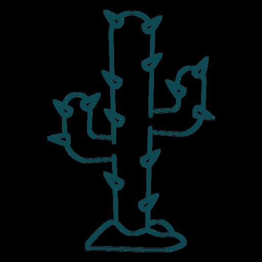 Wild west cactus stroke