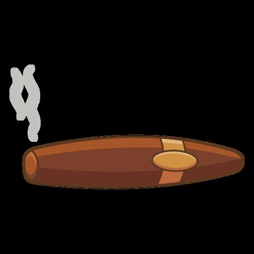 Wild west cigar color stroke