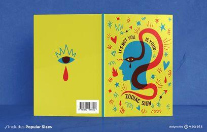 Portada del libro de cabeza de zodiaco y serpiente