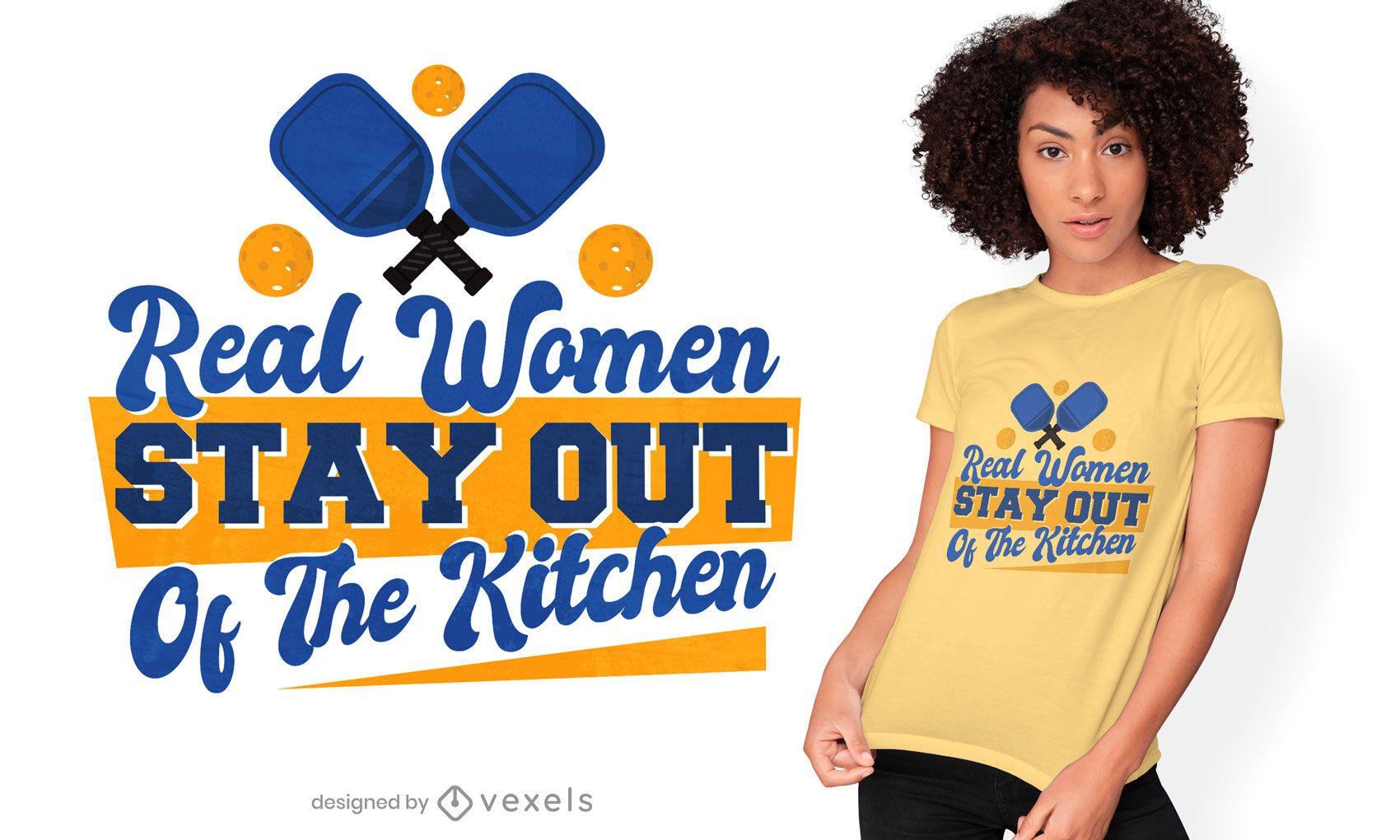 Women ball sport quote t-shirt design
