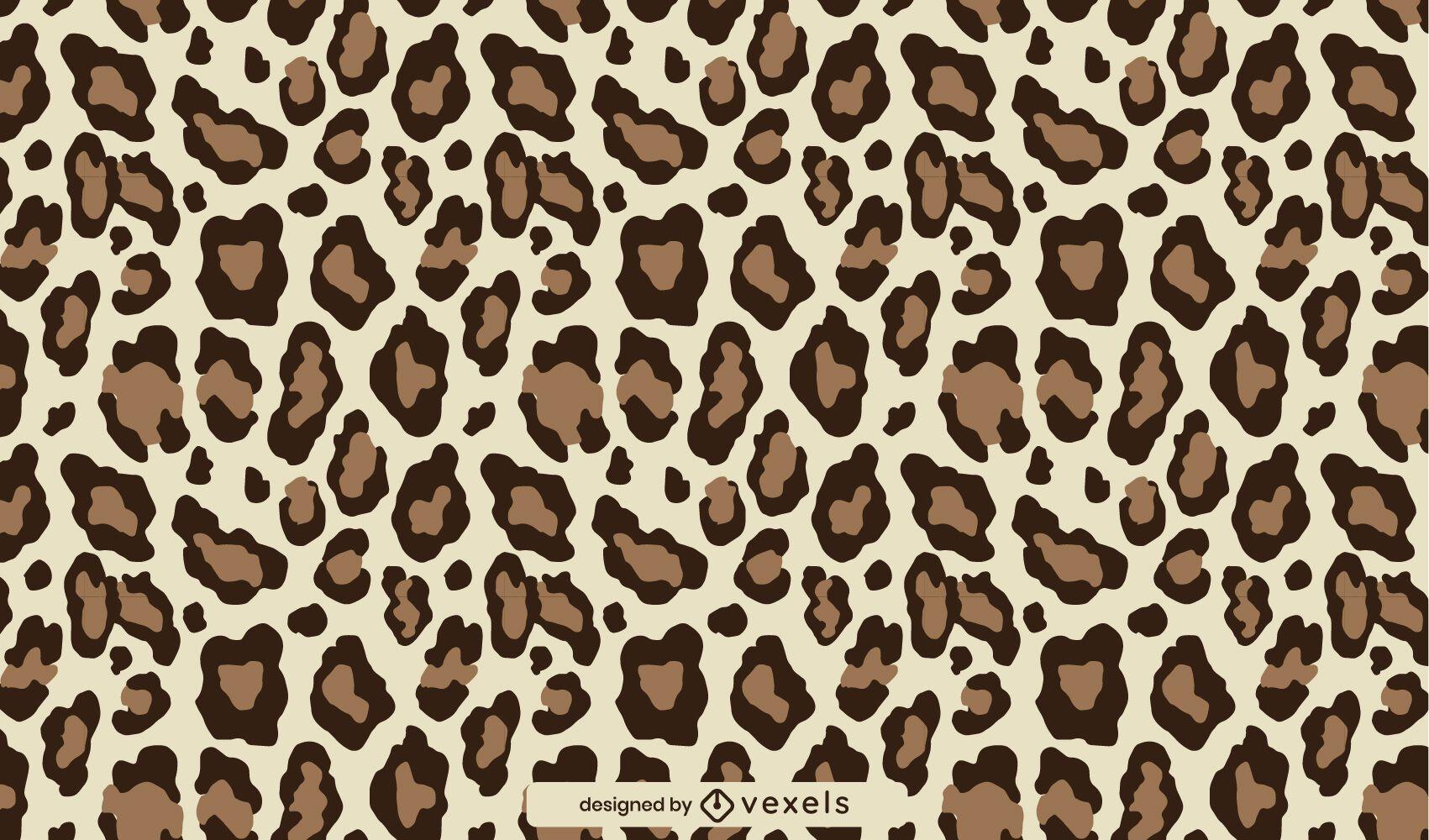 Animal print leopard pattern design