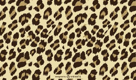 Patrón de piel de leopardo animal print