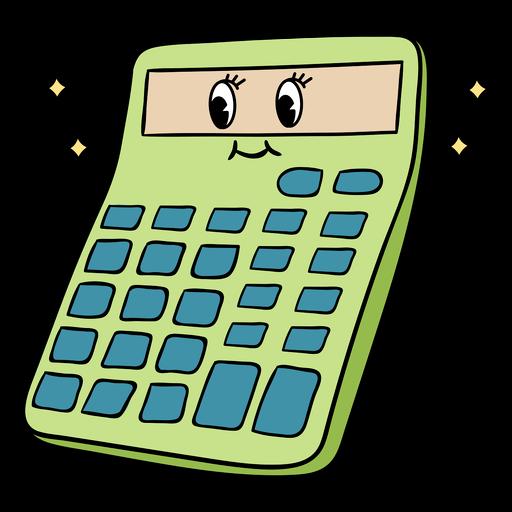 Cute calculator color stroke