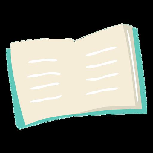 Open book semi flat
