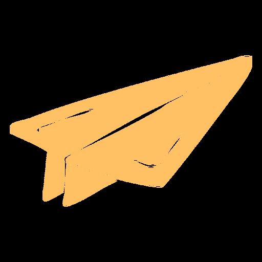 Paper plane cut out
