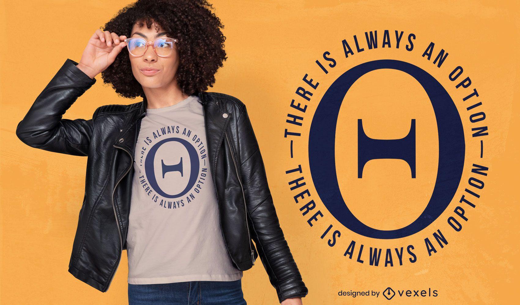 Dise?o de camiseta de letra del alfabeto griego Theta