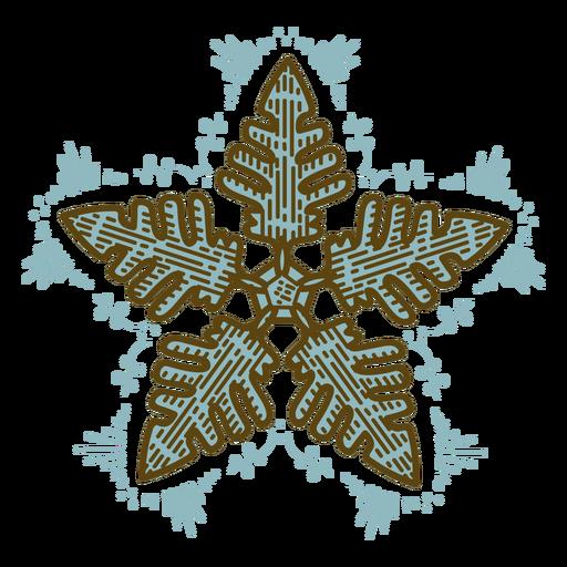Estampado al aguafuerte vintage Nature Winter - 5