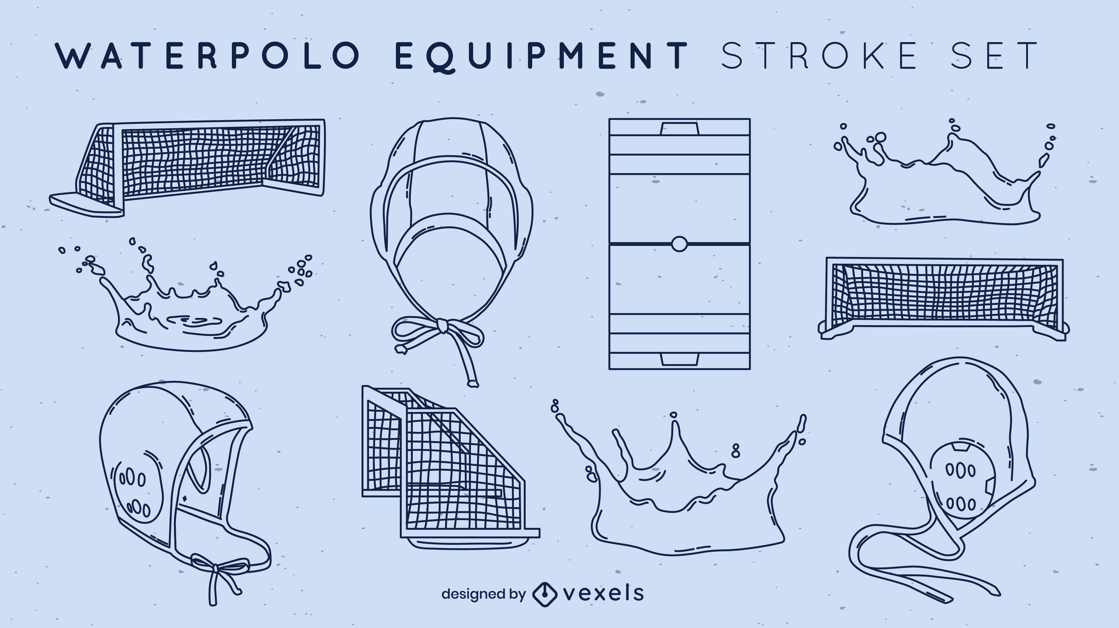 Waterpolo elements stroke