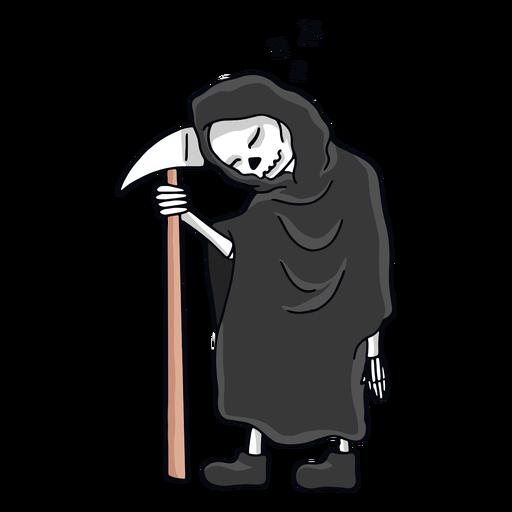 Grim Reaper sleeping character