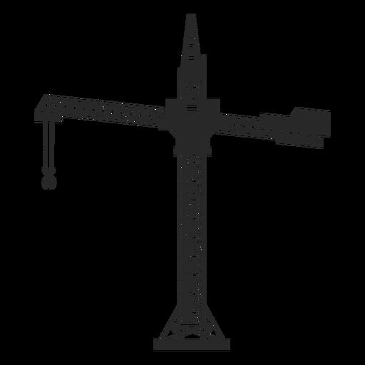 Building crane cut out