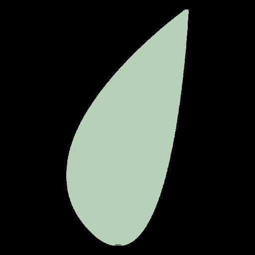 Organic abstract drop
