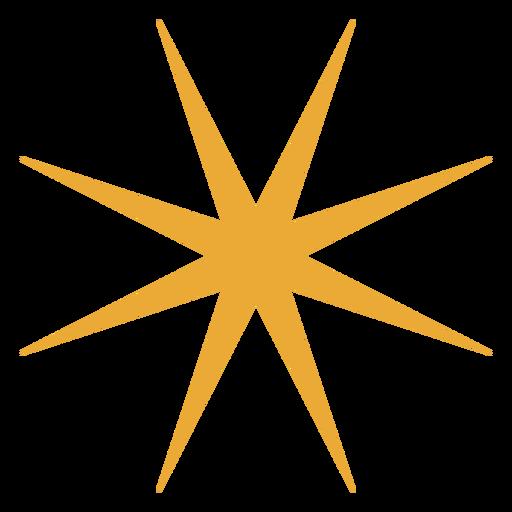 Shiny star flat